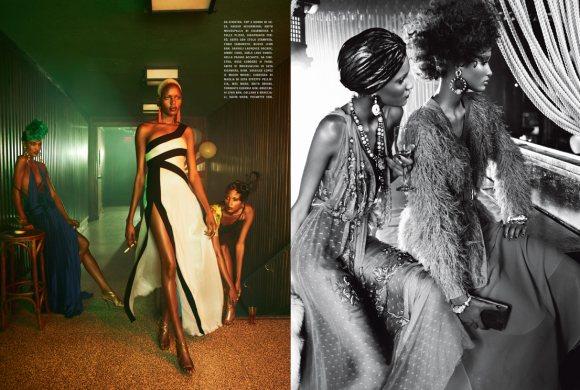 The Black Allure Vogue Italia February 2011 9