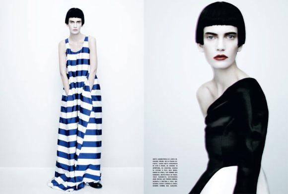 Valerija Kelava Vogue Italia February 2011 2