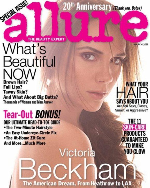 Victoria Beckham Allure March 2011