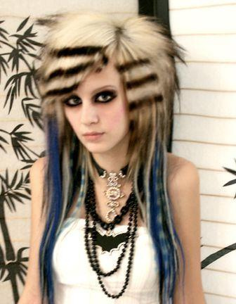 long emo scene hairstyles