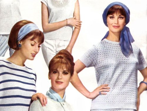 Hair Style 60s: Retro Clothing