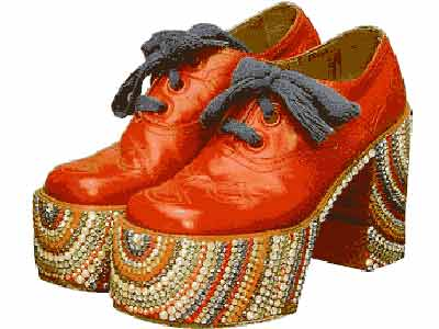 70s Funky Platform-shoes