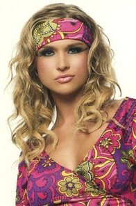 70s hippie girl hairstyle