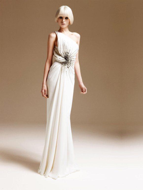Abbe Lee Kershaw Atelier Versace Spring 2011 Lookbook 11