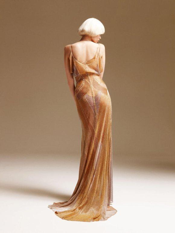 Abbe Lee Kershaw Atelier Versace Spring 2011 Lookbook 14