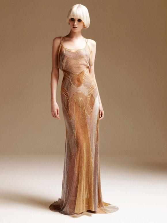 Abbe Lee Kershaw Atelier Versace Spring 2011 Lookbook 15