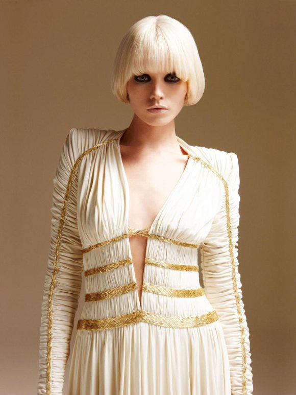Abbe Lee Kershaw Atelier Versace Spring 2011 Lookbook 16
