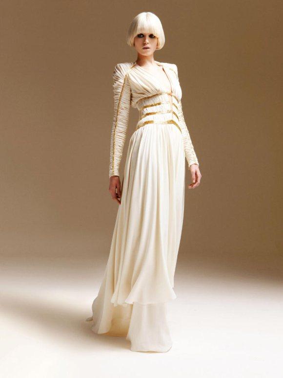 Abbe Lee Kershaw Atelier Versace Spring 2011 Lookbook 17