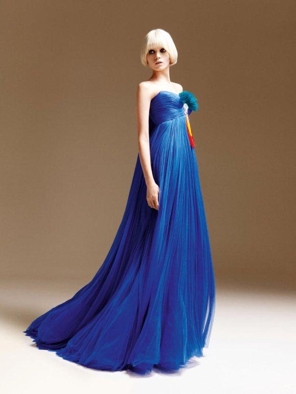 Abbe Lee Kershaw Atelier Versace Spring 2011 Lookbook 2