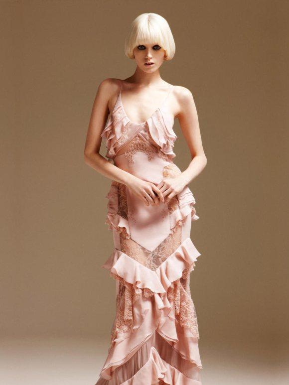 Abbe Lee Kershaw Atelier Versace Spring 2011 Lookbook 20