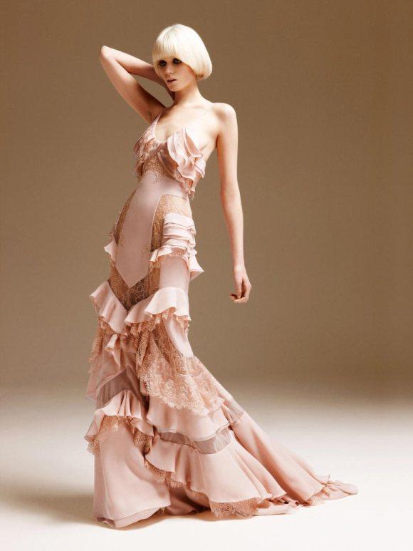 Abbe Lee Kershaw Atelier Versace Spring 2011 Lookbook 21