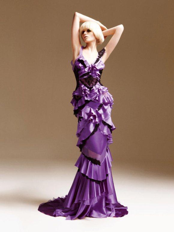 Abbe Lee Kershaw Atelier Versace Spring 2011 Lookbook 23