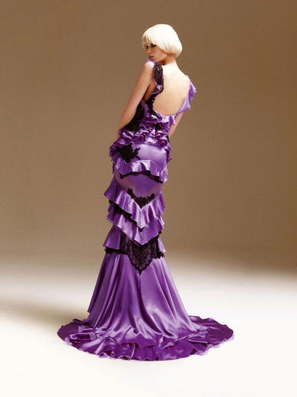 Abbe Lee Kershaw Atelier Versace Spring 2011 Lookbook 24