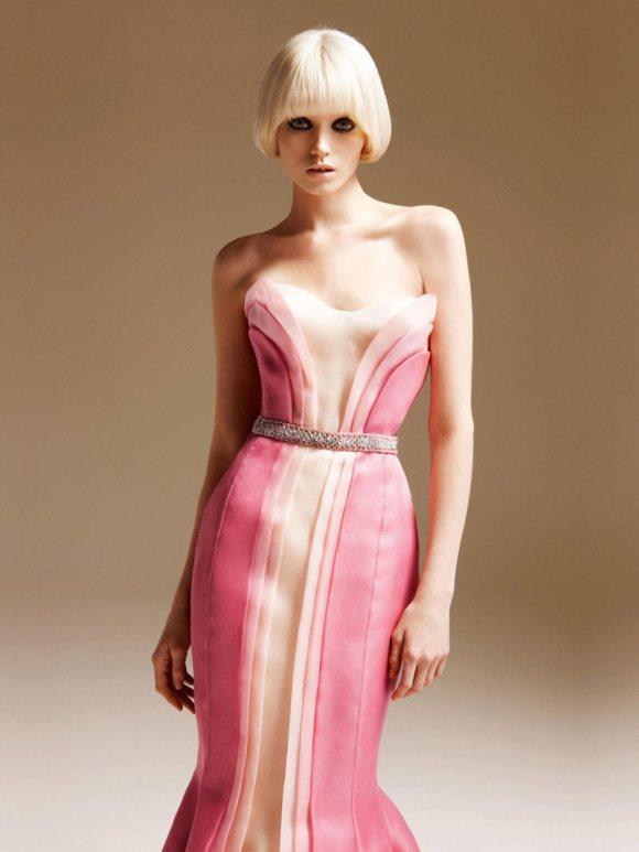 Abbe Lee Kershaw Atelier Versace Spring 2011 Lookbook 25