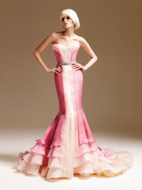 Abbe Lee Kershaw Atelier Versace Spring 2011 Lookbook 26