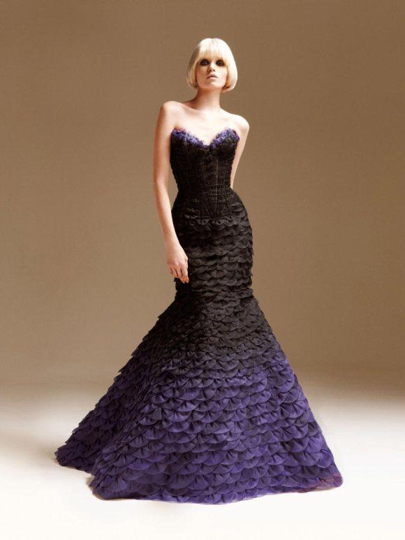 Abbe Lee Kershaw Atelier Versace Spring 2011 Lookbook 27