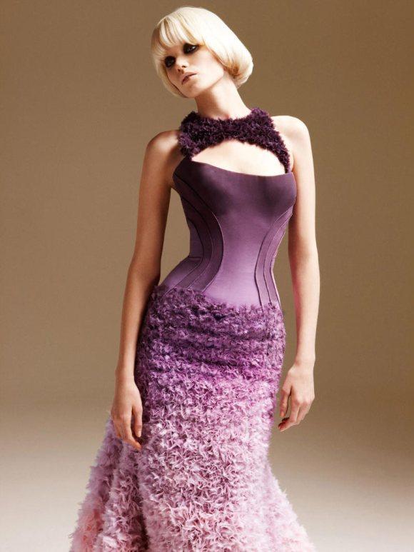 Abbe Lee Kershaw Atelier Versace Spring 2011 Lookbook 29