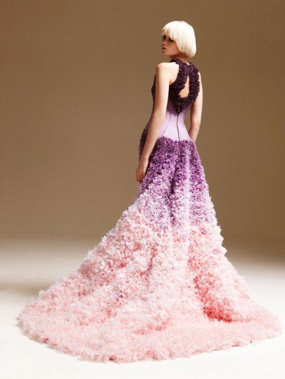 Abbe Lee Kershaw Atelier Versace Spring 2011 Lookbook 30