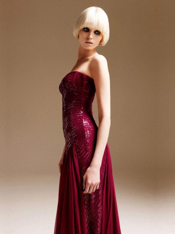 Abbe Lee Kershaw Atelier Versace Spring 2011 Lookbook 4