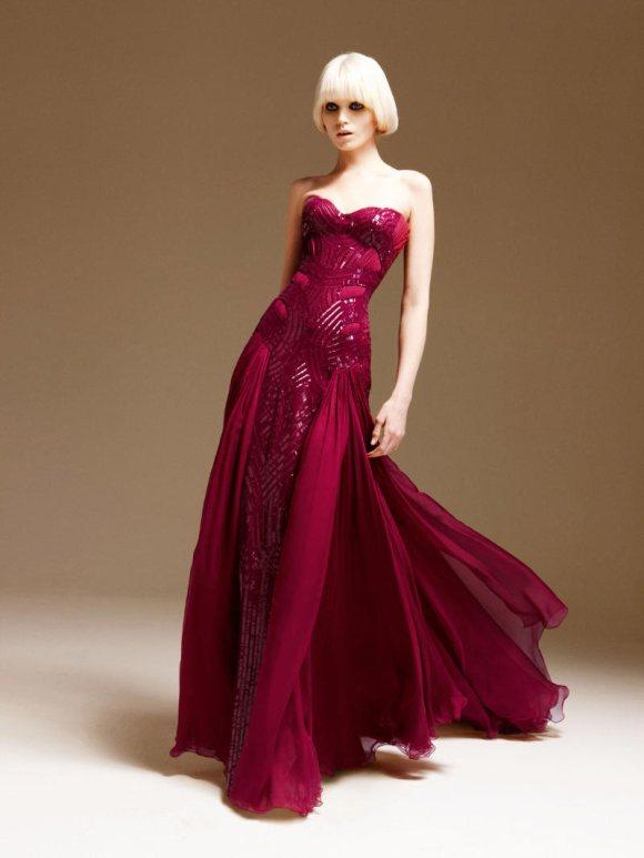 Abbe Lee Kershaw Atelier Versace Spring 2011 Lookbook 6