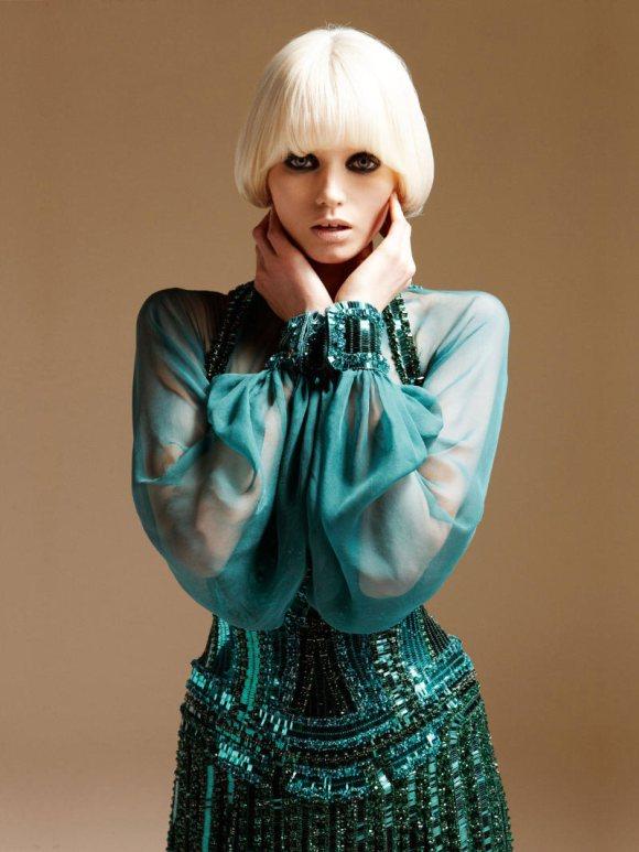 Abbe Lee Kershaw Atelier Versace Spring 2011 Lookbook 7