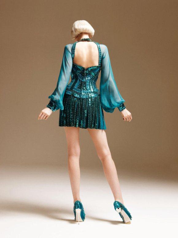Abbe Lee Kershaw Atelier Versace Spring 2011 Lookbook 8