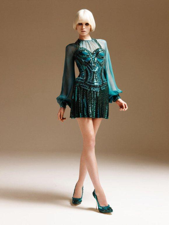 Abbe Lee Kershaw Atelier Versace Spring 2011 Lookbook 9