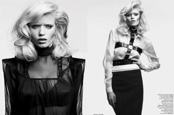 Abbey Lee Kershaw Vogue Russia April 2011