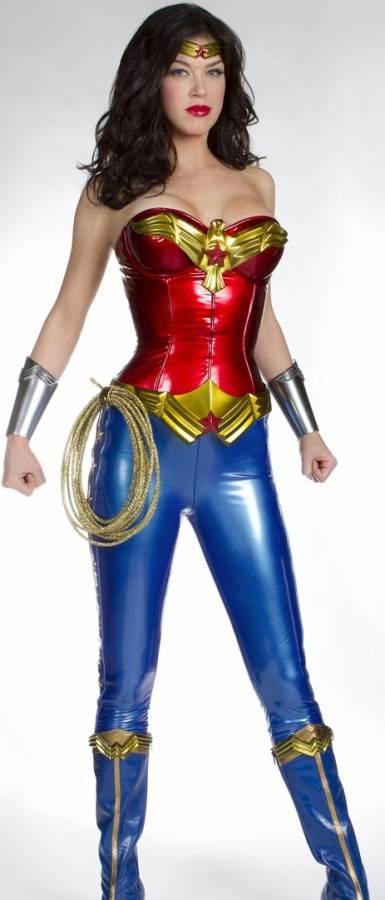 Adrienne Palicki as NBCs Wonder Woman look