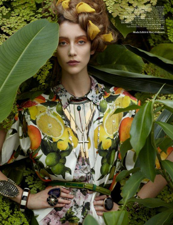 Alana Zimmer Vogue Turkey March 2011