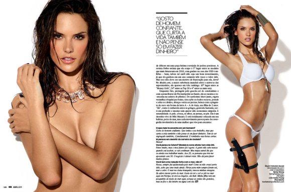 alessandra ambrosio 2011. Alessandra Ambrosio for GQ
