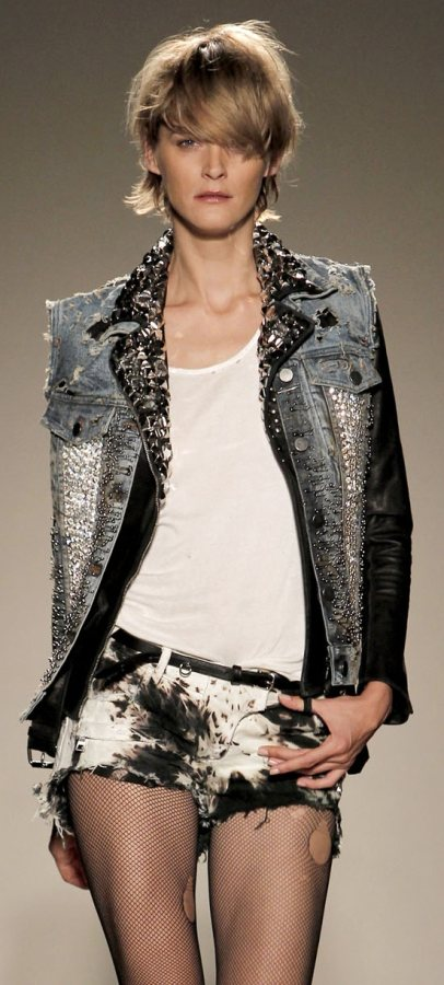 Androgynous look Women casual