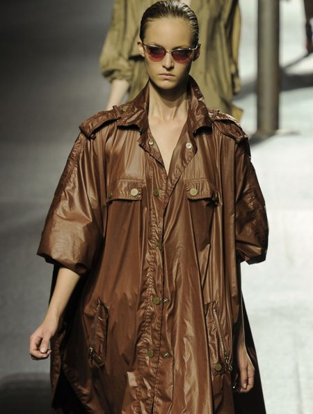 Androgynous look Women trench coats