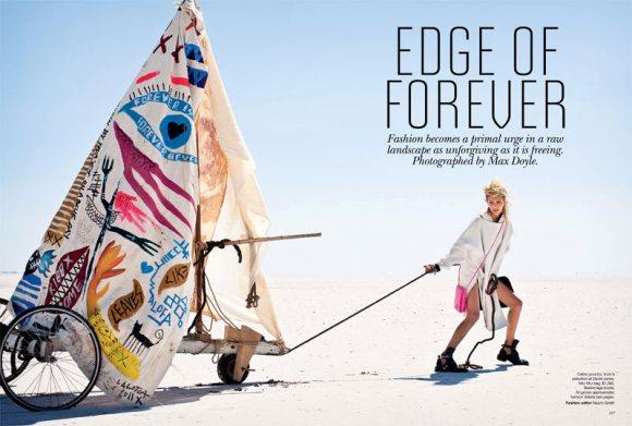 Anja Rubik Vogue Australia April 2011 1