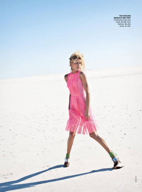 Anja Rubik Vogue Australia April 2011 11