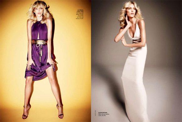 Anja Rubik Vogue Australia April 2011 5