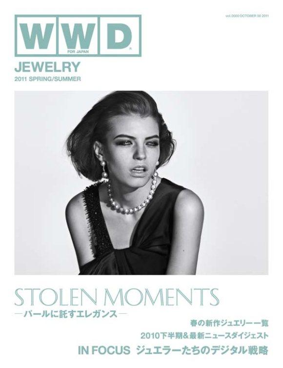 Anna Gushina WWD Japan Jewelry