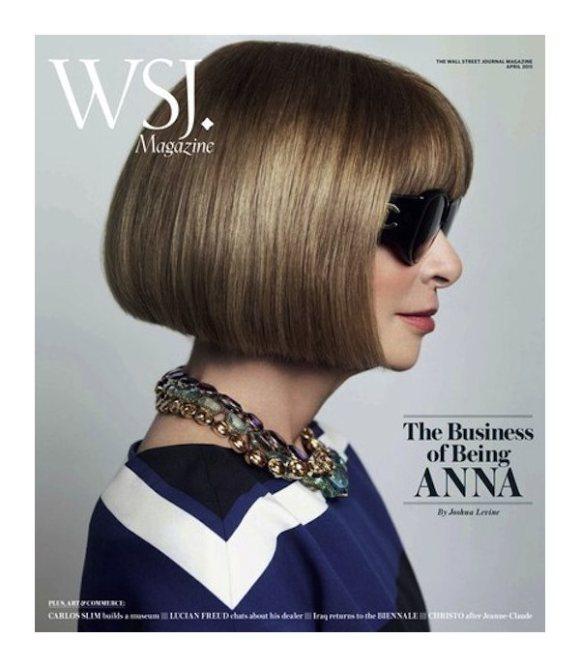 Anna Wintour Walll Street Journal April 2011