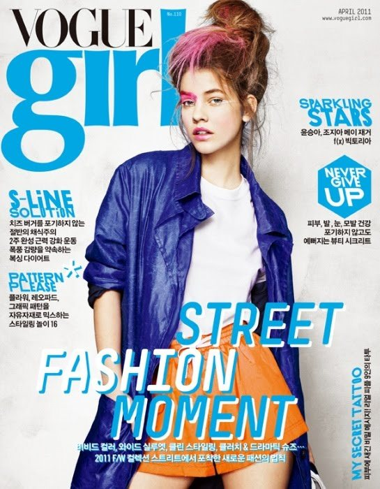 Barbara Palvin Vogue Girl Korea April 2011
