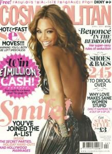 Beyonce for Cosmopolitan April 2011