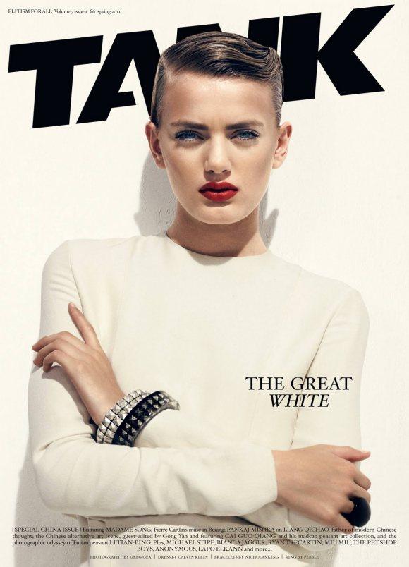 Bregje Heinen Tank Magazine Spring 2011