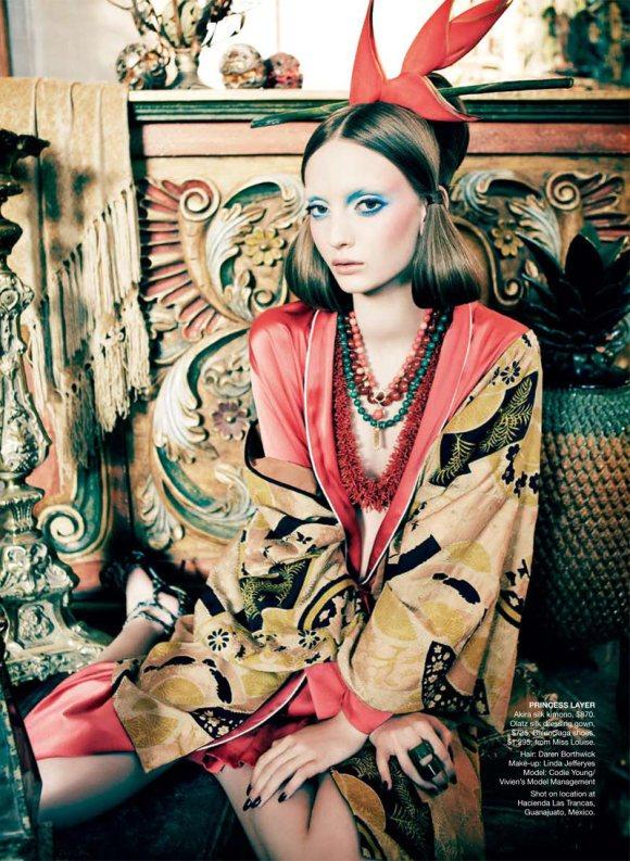 Codie Young Vogue Australia April 2011 2