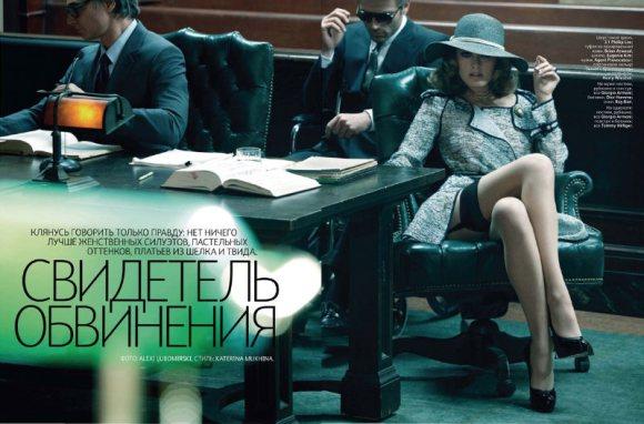 Constance Jablonski Vogue Russia March 2011 1