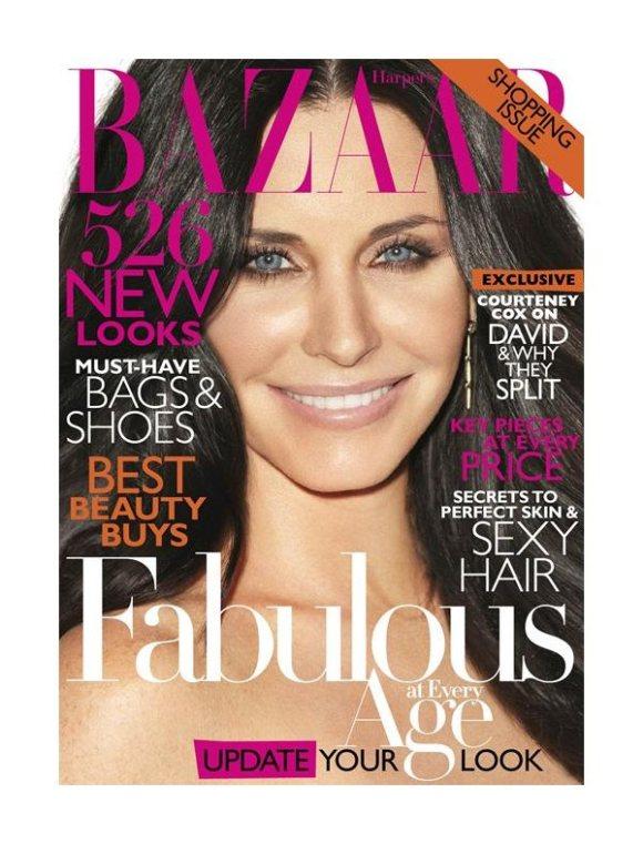 Courteney Cox Harpers Bazaar US April 2011