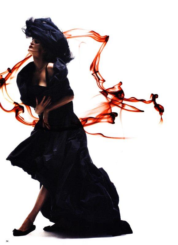Edita Vilkeviciute Vogue China S S 2011 5