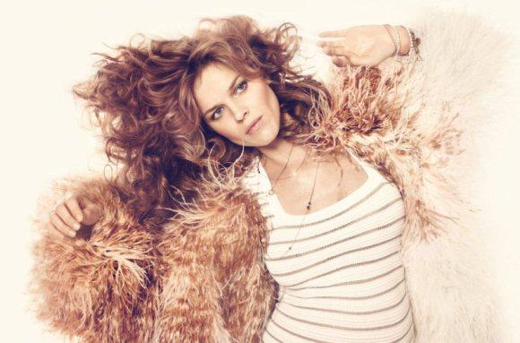 Eva Herzigova inside Harpers Bazaar UK April 2011-2