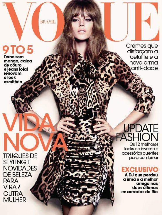 Freja Beha Erichsen Vogue Brazil March 2011