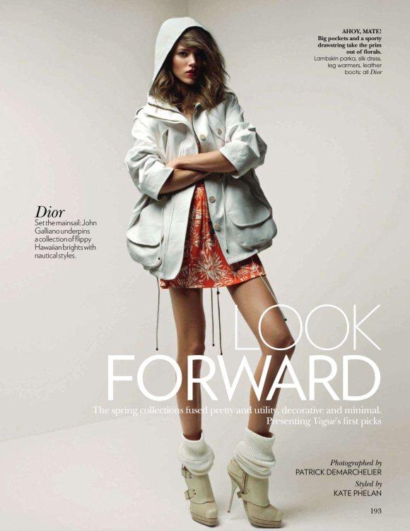 Freja Beha Erichsen for Vogue India March 2011