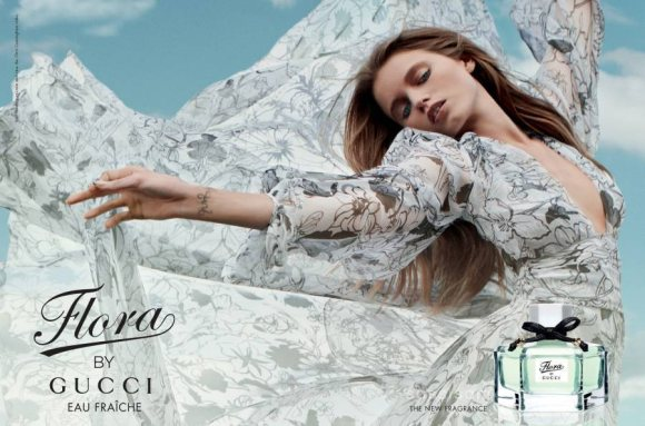 abbey lee kershaw for gucci eau fra238che campaign 2011
