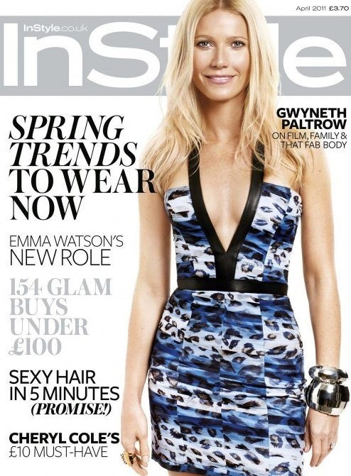Gwyneth Paltrow for InStyle UK April 2011
